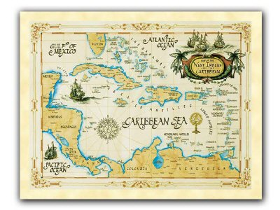 Classic Map Posters